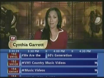 TV Guide Channel with its second blue grid (2003–2004).