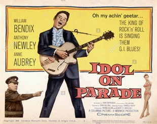 <i>Idol on Parade</i> 1959 film by John Gilling