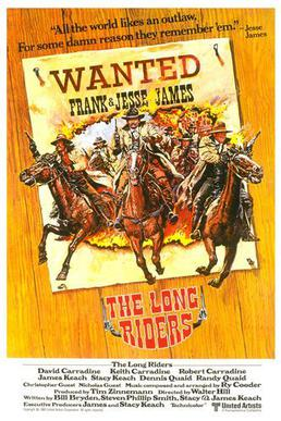 The Long Riders (1980) movie poster