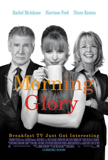 The poster shows a woman holding a coffee mug. At her right is a man with a awkward-looking expression. At her left is another woman smiling. At the middle reveals the title while at the bottom reveals the tagline and production credits.