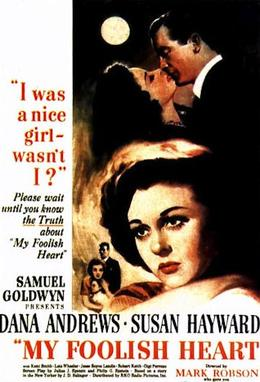 Image result for my foolish heart movie poster