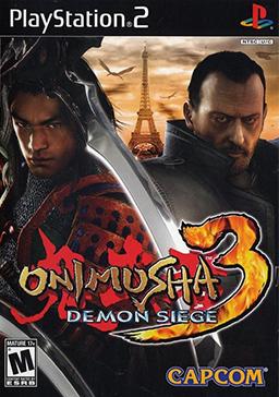 Saga Onimusha [Viejas leyendas de los videojuegos] Onimusha_3_-_Demon_Siege_Coverart
