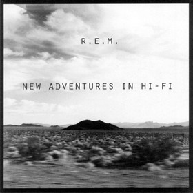 Disc one from the LP release of New Adventures in Hi-Fi artwork