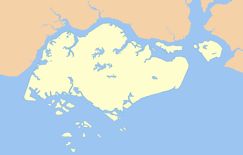 Images and Places, Pictures and Info: singapore map outline