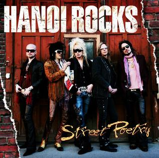 <i>Street Poetry</i> 2007 studio album by Hanoi Rocks