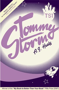 <i>Tommy Storm</i> book by A.J. Healy