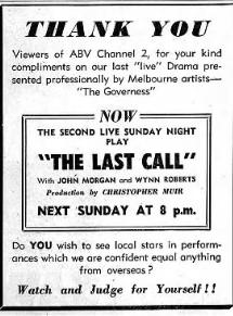 <i>Last Call</i> (1958 film) 1958 film
