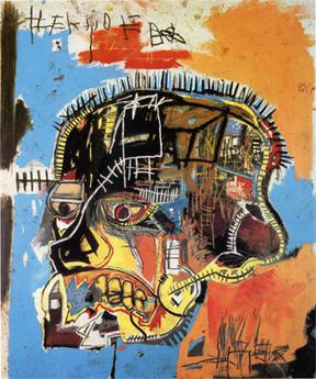 Image:Untitled acrylic and mixed media on canvas by --Jean-Michel Basquiat--, 1984.jpg