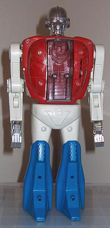 A photo of a Micronauts Biotron toy.
