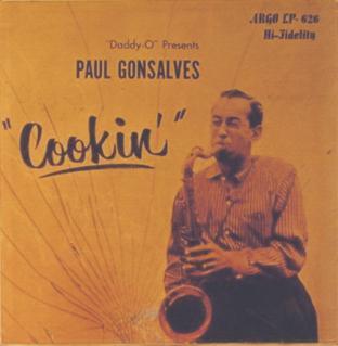 <i>Cookin</i> (Paul Gonsalves album) 1957 studio album by Paul Gonsalves