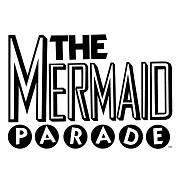 The word mermaid followed by letters for the word parade in circles