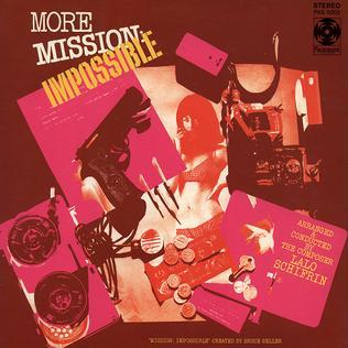 <i>More Mission: Impossible</i> 1969 soundtrack album by Lalo Schifrin