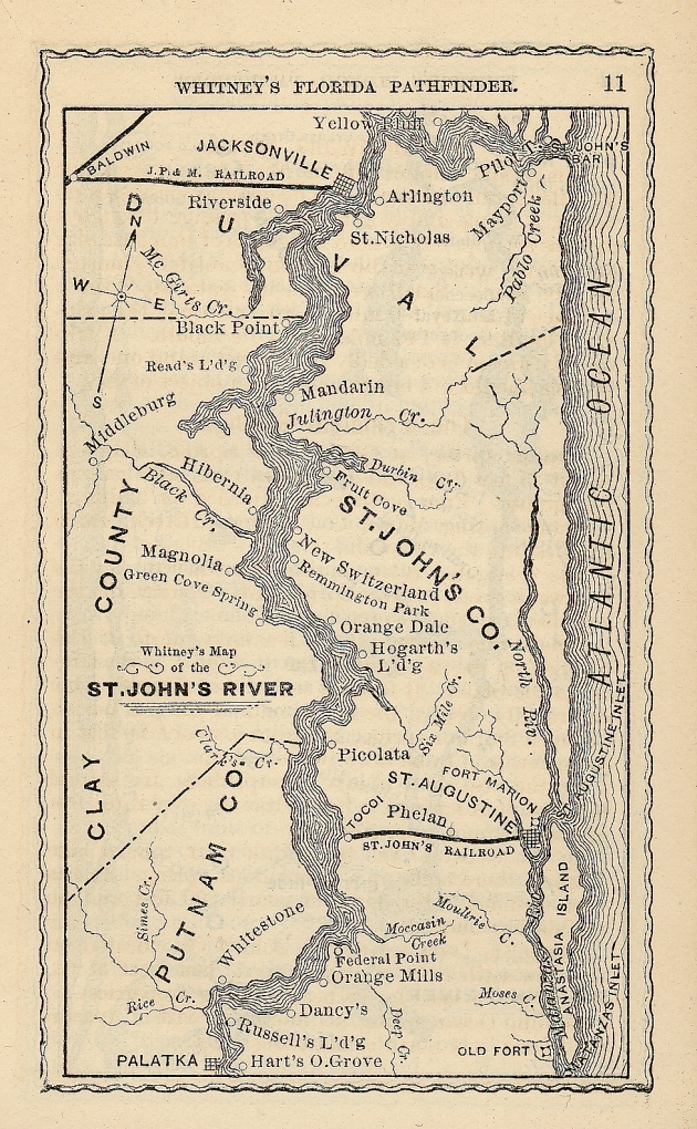 St. Johns River - Wikipedia on saint augustine river map, potomac river map, vicksburg river map, st. lawrence river on us map, saint joe river map, saint lawrence river map, oregon river map, south branch river map, saint clair river map, st. mary river florida on map, elizabeth river map, salem river map, saint francis river map, united states river map, lower john day river map, susquehanna river map, st. louis river map, ice in st. clair river map, ohio river map, saint john's florida map,