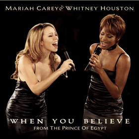 Mariah Carey and Whitney Houston — When You Believe (studio acapella)