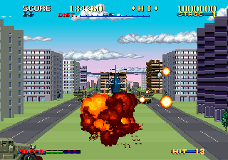 Arcade version screenshot. ARC Thunder Blade.png