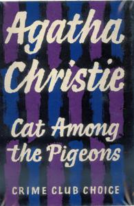 Cat Among the Pigeons First Edition Cover 1959.jpg