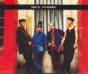 East 17 — It's Alright (studio acapella)