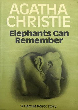 Image result for agatha christie elephants can remember first edition