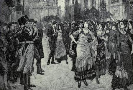 "Carmen sings the ""Habanera"", act 1"