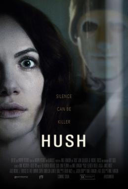 HUSH - 2016 - Mike Flanagan Hush_2016_poster