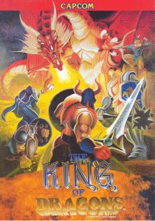 Clásicos beat em up imprescindibles King_of_Dragons_sales_flyer