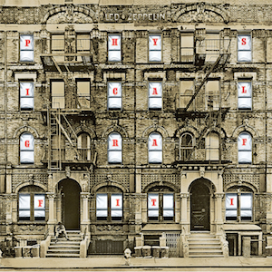 <i>Physical Graffiti</i> 1975 studio album by Led Zeppelin