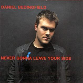 Daniel Bedingfield — Never Gonna Leave Your Side (studio acapella)