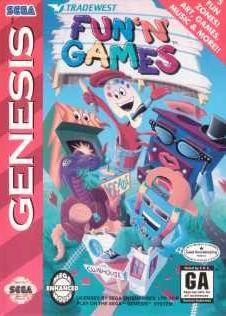 Sega Genesis front cover box art