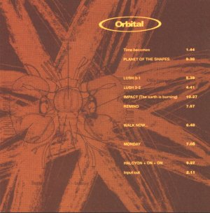 <i>Orbital</i> (1993 album) 1993 studio album by Orbital
