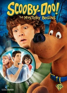 DVD cover - Scooby-Doo! The Mystery Begins