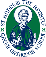 St. Andrew the Apostle Greek Orthodox School Badge.png