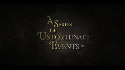 Image result for series of unfortunate events title