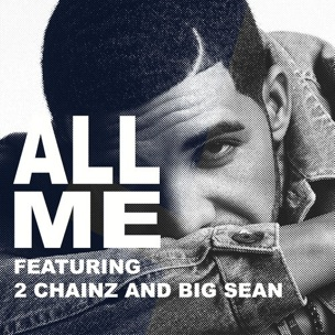 Drake featuring 2 Chainz and Big Sean - All Me (studio acapella)