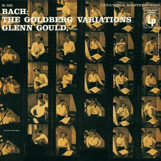Bach: The Goldberg Variations (Glenn Gould album) 1956 studio album by Glenn Gould