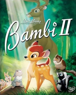 <i>Bambi II</i> 2006 American animated drama film directed by Brian Pimental and produced by DisneyToon Studios