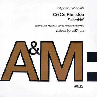 Searchin (CeCe Peniston song) single by CeCe Peniston