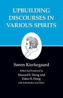 <i>Edifying Discourses in Diverse Spirits</i> book by Søren Kierkegaard
