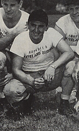 A photo of Fritz Heisler with the Cleveland Browns in 1946