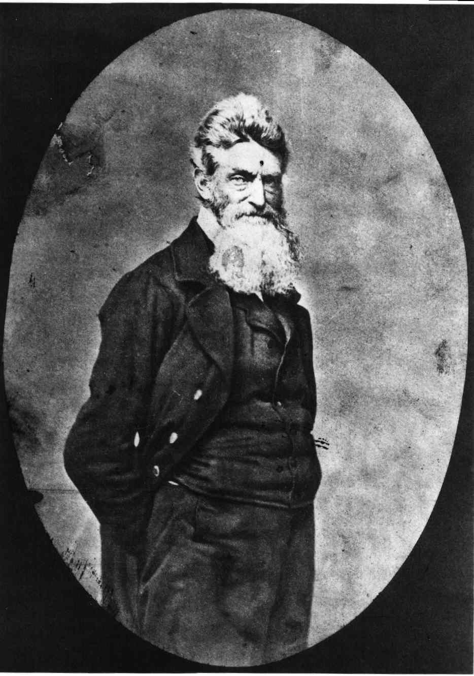 the old man john brown at harpers ferry essay Slandered by craven abolitionists as unhinged, john brown was in  on the  pitiless kansas prairies and later deployed at harpers ferry  several  misapprehensions about the pious old buzzard (brown, i mean, not lincoln.