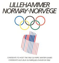 Lillehammer bid for the 1992 Winter Olympics Norwegian unsuccessful Olympic bid