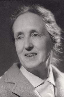 Portrait of Marjorie Chibnall