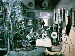 One of Picasso's recreations of Las Meninas, f...