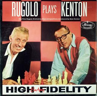 <i>Rugolo Plays Kenton</i> 1958 studio album by Pete Rugolo and His Orchestra