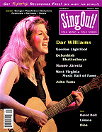 <i>Sing Out!</i> journal of folk music and folk songs
