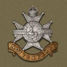 Missing Regiment Sherwood_Foresters_Badge