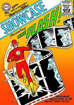 Showcase #4 (Oct. 1956), the launch of comics'...