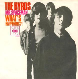 Mr. Spaceman single by The Byrds