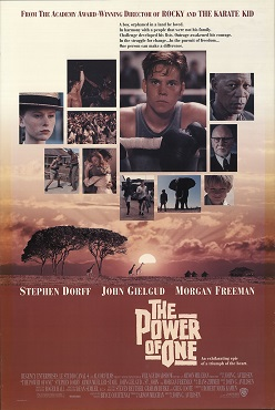 The power of one movie essay review