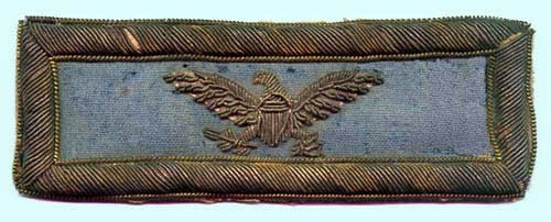 Shoulder Strap from an infantry colonel in the Union Army