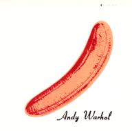 La première édition LP avec l'autocollant peau de banane décollé.
